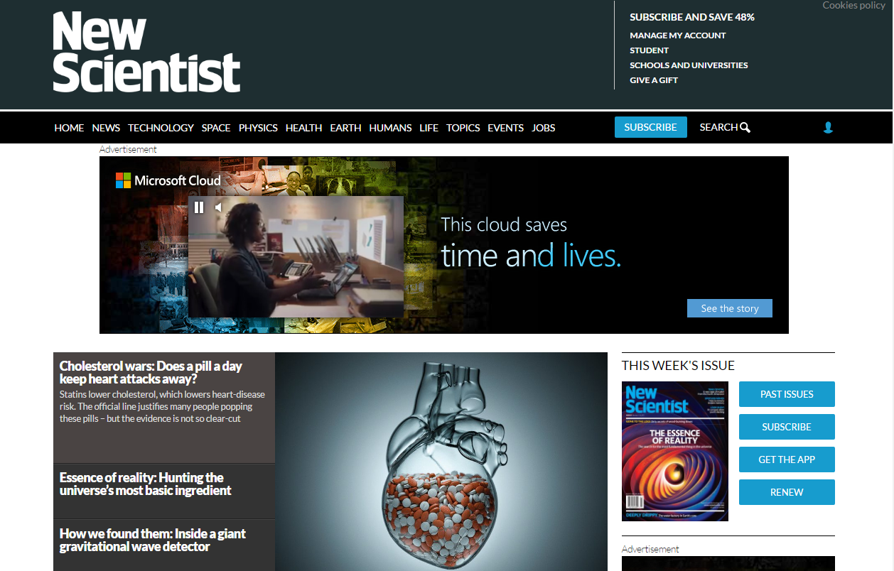 New-Scientist-website