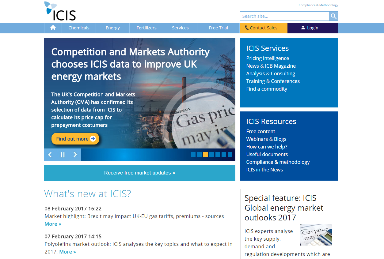 ICIS-website